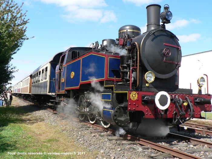 Le Train à Vapeur de la Vendée