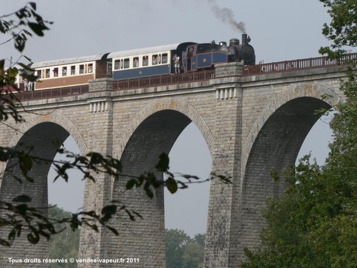 Le Train à vapeur sur le