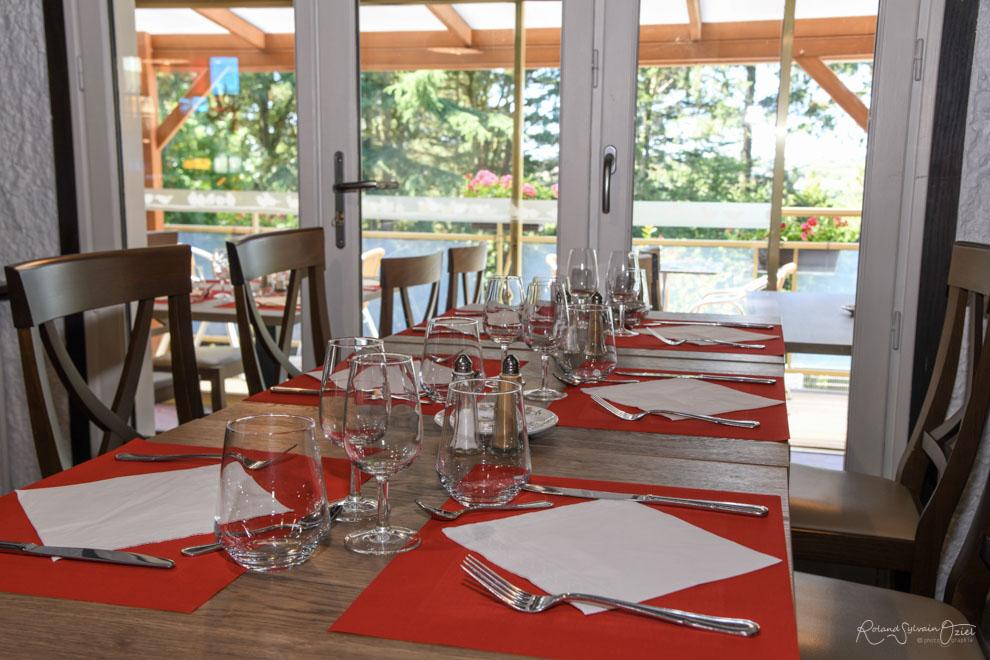 restaurant lumière douce et intimiste