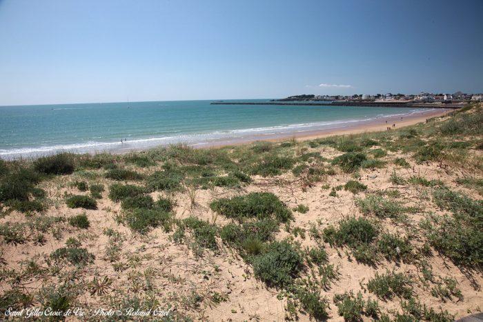 Dune et la cote saint gilles croix de vie
