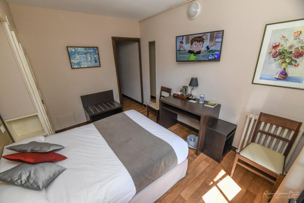 Chambre n° 4 hotel saint laurent sur sèvre avec chambre Wifi